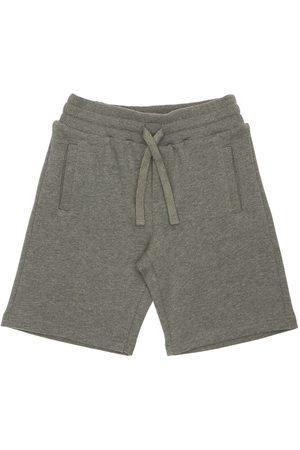 Dolce & Gabbana | Niño Pantalones Cortos De Algodón Con Logo 8a