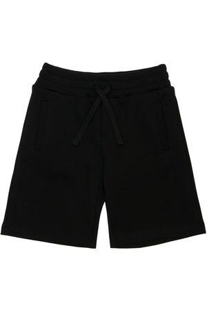 Dolce & Gabbana   Niño Pantalones Cortos De Algodón Con Logo 8a