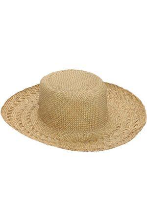 "Saint Laurent | Mujer Sombrero Panamá ""honolulu"" De Paja 58"