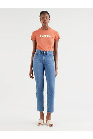 Levi's Mujer Cintura alta - 314™ Shaping Straight Jeans Neutral / Lapis Speed