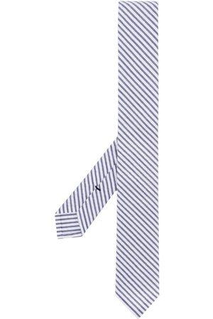 Thom Browne Corbata clásica de tejido seersucker