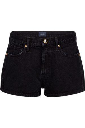 Khaite Shorts de jeans Charlotte tiro alto