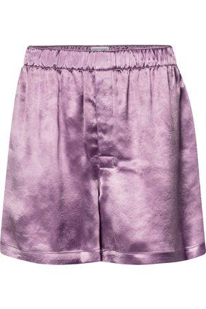 Bottega Veneta Shorts de cupro