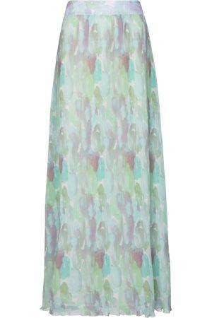 Ganni Falda larga plisada