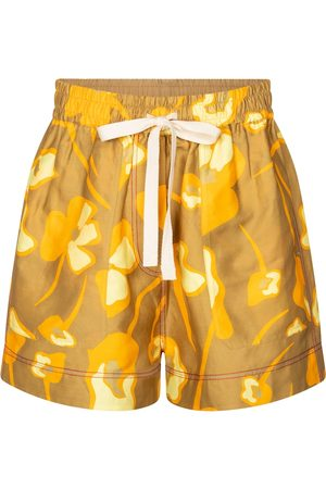 Lee Mathews Shorts Wren en mezcla de lino