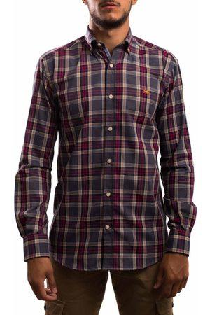 Klout Camisa manga larga CAMISA REGULAR CUADRO para hombre