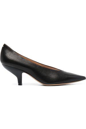 Maison Margiela Zapatos de tacón con detalle de costuras