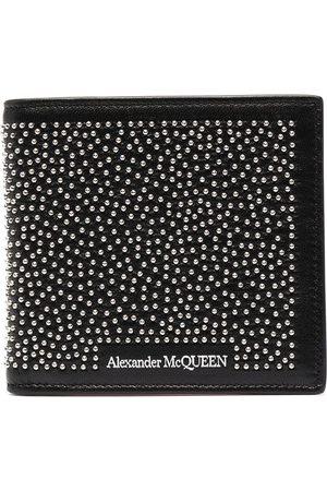 Alexander McQueen Cartera con logo y apliques