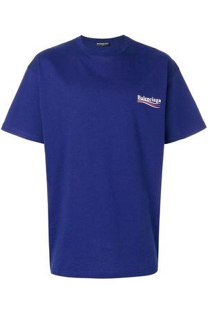 Balenciaga Camiseta oversize con logo estampado