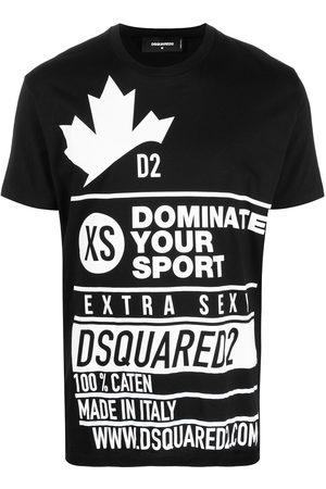 Dsquared2 Camiseta con eslogan estampado