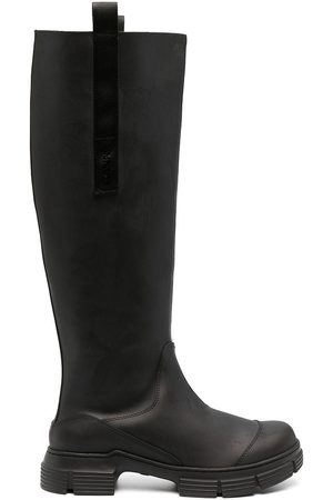 GANNI Mujer Zapatillas deportivas - Botas de campo estilo slip-on