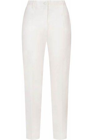 Dolce & Gabbana Pantalones de vestir de talle bajo