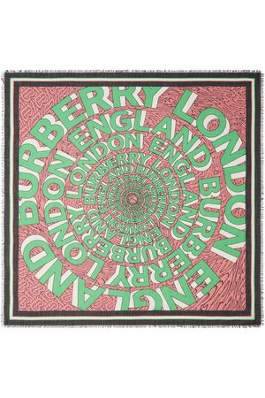 Burberry Pañuelo grande con logo
