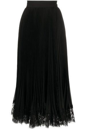 Dolce & Gabbana Falda midi plisada