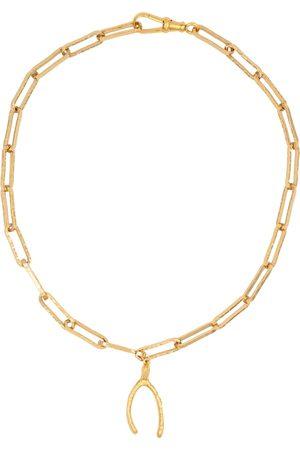 Alighieri Collar The Past Follies con baño en oro de 24 ct