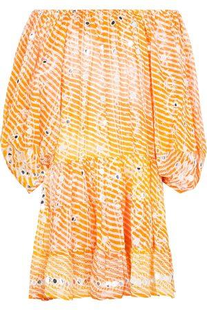 Juliet Dunn Vestido corto de lentejuelas