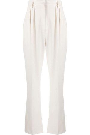 Nanushka Pantalones de talle alto