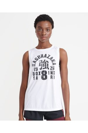 Superdry Mujer Tops - Sport Camiseta sin mangas Training Boxing Yard