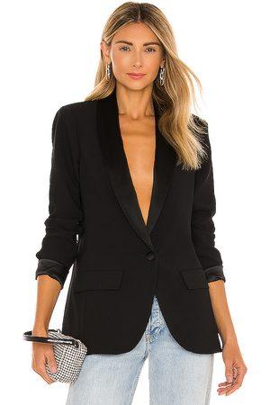 Amanda Uprichard Mujer Abrigos y Chaquetas - Jane blazer en color talla L en - Black. Talla L (también en XS, S, M).