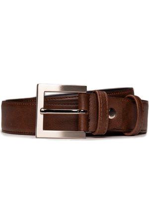 Nae Vegan Shoes Cinturón BeltBruc_Brown para hombre