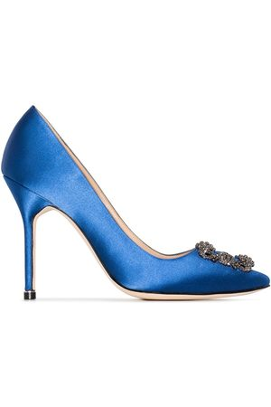 Manolo Blahnik Zapatos de tacón Hangisi 105