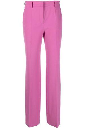 Alberta Ferretti Pantalones de vestir fruncidos
