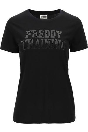 Freddy Camiseta - T-shirt nero F0WTRT1-N para mujer