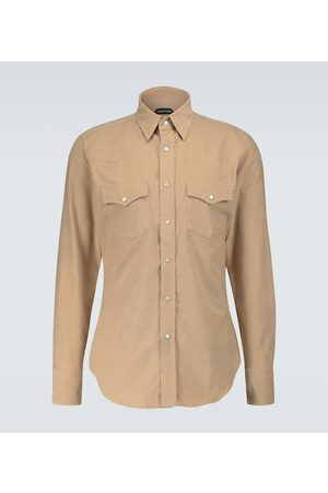 Tom Ford Camisa de pana