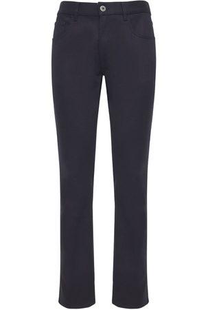 Prada Hombre Vaqueros -   Hombre Jeans De Denim De Algodón Stretch 19cm 33