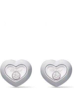 Chopard Mujer Pendientes - Pendientes Happy Diamonds Icons en oro blanco 18kt