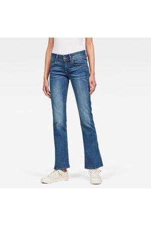 G-Star Mujer Jeans Midge Mid Bootcut intermedio