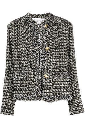 VALENTINO Chaqueta de tweed con lentejuelas