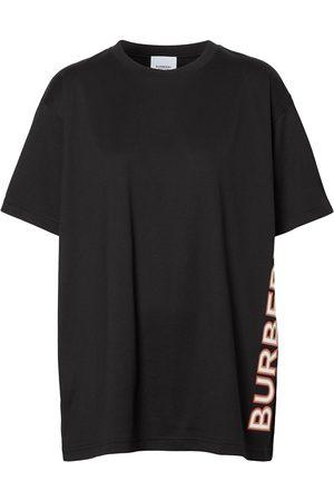 Burberry Mujer Sin mangas - Camiseta con logo estampado