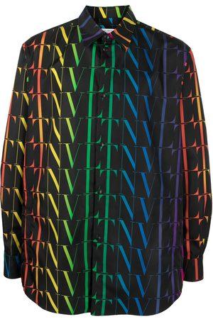 VALENTINO Camisa con estampado VLTN Times