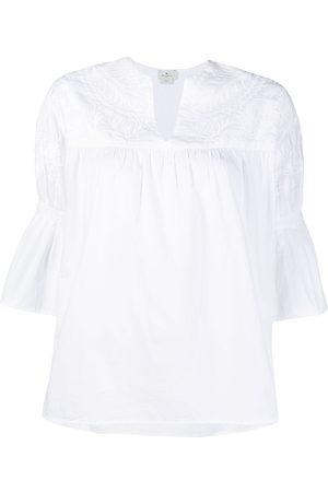 Etro Mujer Camisas - Camisa con bordado floral