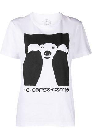 10 CORSO COMO Camiseta con estampado de perro
