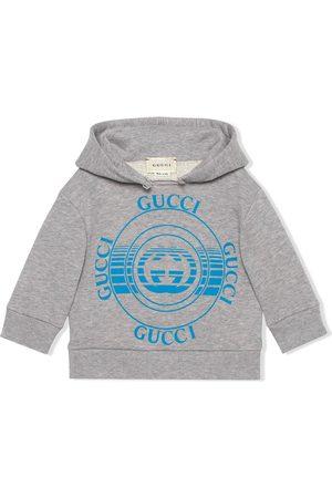 Gucci Sudadera con motivo de discos