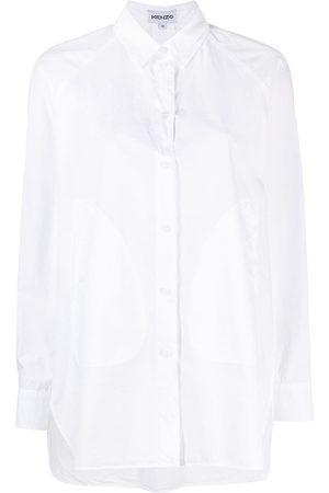 Kenzo Camisa a paneles
