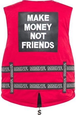 MAKE MONEY NOT FRIENDS | Hombre Chaleco Con Cinturones Y Logo S