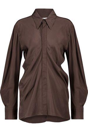 Bottega Veneta Camisa drapeada
