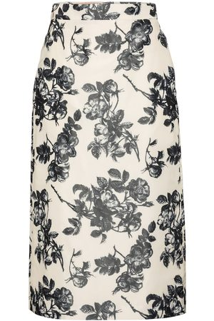 BROCK COLLECTION Falda midi Stella floral