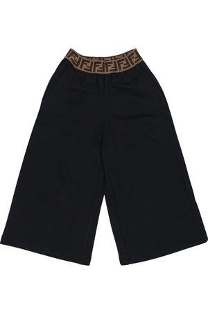 Fendi Shorts de algodón con logo