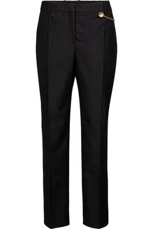 Givenchy Pantalones cigarette de lana