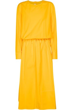 Marni Vestido midi de popelín de algodón