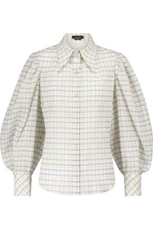 Isabel Marant Camisa Fanua de algodón y seda