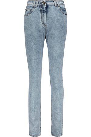 Balmain Jeans skinny de tiro alto