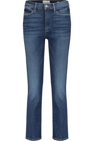 Frame Jeans rectos cropped Le High