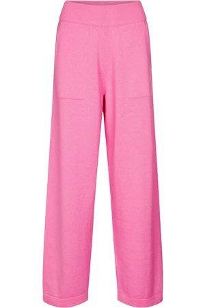 Barrie Pantalones anchos de cachemir