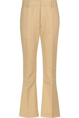 Marni Pantalones anchos de algodón