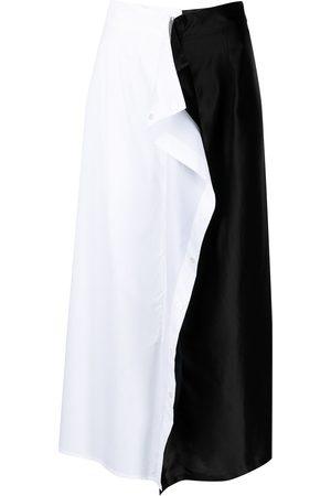 MM6 MAISON MARGIELA Mujer De tubo - Falda midi con volantes